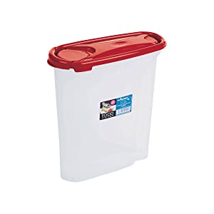 Wham Cuisine Cereal Plastic Dispenser, 2.5 Litre, Red
