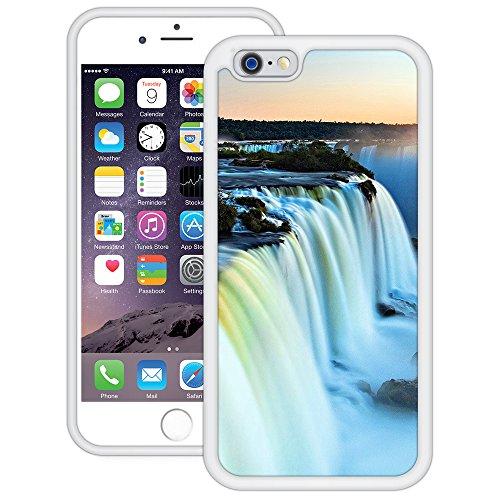 Niagarafälle | Handgefertigt | iPhone 6 6s (4,7') | Weiß TPU Hülle