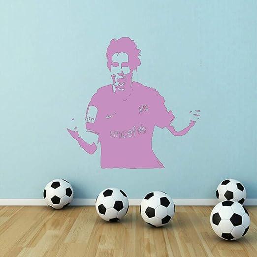 xingbuxin Apuesto Messi Football Star Wall Decal Barcelona ...