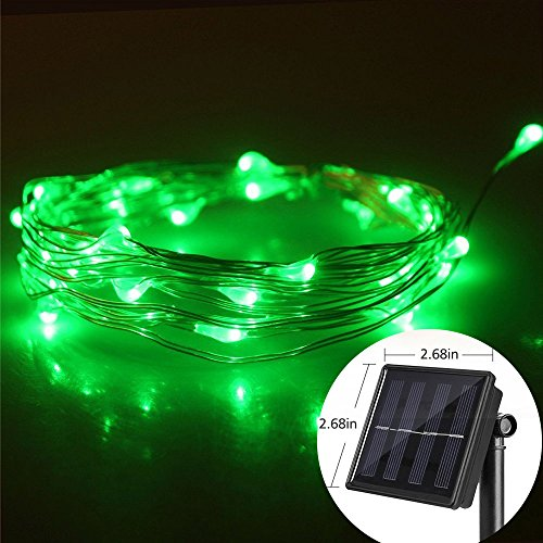 Green Frog Outdoor Furniture (Solar String Lights (66ft, Waterproof, 8 Modes) Ourtdoor Fairy Lights with Copper Wire Rope Lights for Garden Christmas Patio Lawn Party home Curtain Landscape Bedroom Holiday Wedding (Green))