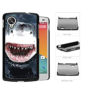 Terrifying Shark Teeth AttackHard Plastic Snap On Cell Phone Case LG Nexus 5 by ruishername