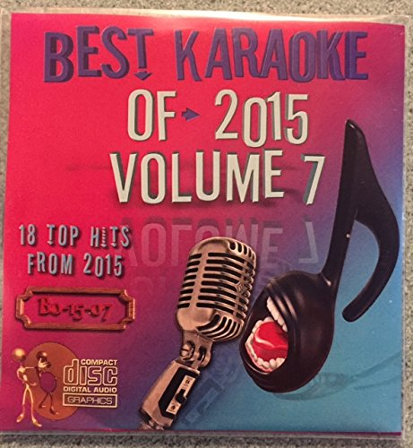 Best Of Karaoke 2015 Volume 7 CD+Graphics CDG 18 Pop & Country Tracks Lukas Graham Rihanna Adele Drake Tori Kelly Chris Stapleton Granger Smith Eric Church Vance Joy Miranda Lambert Keith Urban MORE! ()