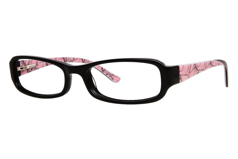 Realtree R452 Womens Eyeglass Frames - Black at Amazon Women\'s ...