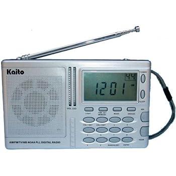 Amazon.com: Kaito KA2031 AM/FM NOAA Wearther Radio with