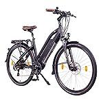 "NCM Milano Plus Bicicletta elettrica da Trekking, 250W, Batteria 48V 16Ah 768Wh 26"" Nero"
