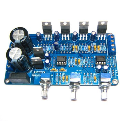SMAKN TDA2030A 2.1 Stereo Audio Power Amplifier Finished Board