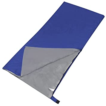 vidaXL Saco de Dormir Ligero Tipo Rectangular una Persona Exterior Camping Senderismo