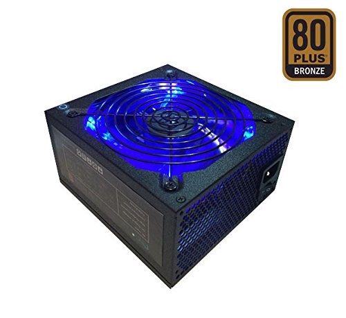 Apevia ATX-JT1000W Jupiter 1000W 80 Plus Bronze Certified Active PFC ATX Gaming Power Supply, Support Dual/Quad Core CPUs, (Ati Crossfire Cable)