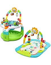 Bright Starts 2 in 1 Activity Gym and Saucer