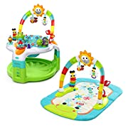 Bright Starts 2 in 1 Laugh & Lights Activity Gym and Saucer