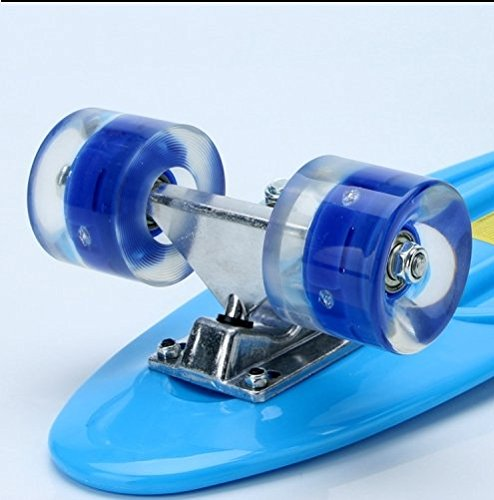 NGDOLL Environment Protection PP Materials Children Four Wheels Skateboard Shining Fish Plate Pedal Scooter