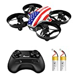 Mini Drone, Potensic A20 RC Nano Quadcopter 2.4G 6 Axis, Altitude Hold Function, Headless Mode Safe and Stable Flight, Remote Control Drone for Beginners & Kids -Flag