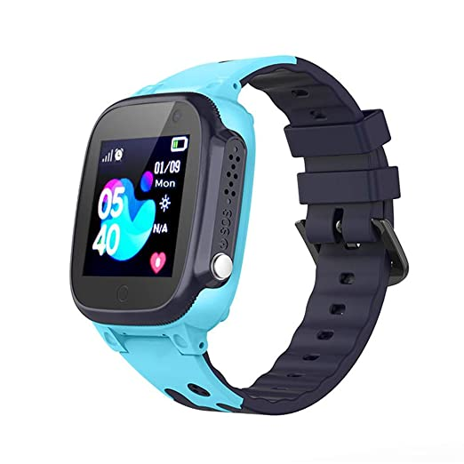 Kids Sports Watch, Waterproof Smartwatch with SOS, GPS, Call, Take a Photo, Alarm Stopwatch, Kids Watch with Silicone Band for Boys, Girl