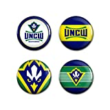 UNC Wilmington Seahawks Logo Buttons (Pack of 4)