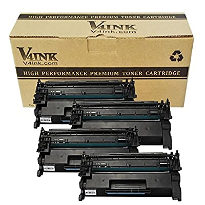 V4INK® 1Pack Replacement for HP CF226A 26A 3100 Pages New Compatible Toner Cartridge for HP LaserJet Pro M402n, M402dn, M402dw, MFP M426fdw, MFP M426fdn series