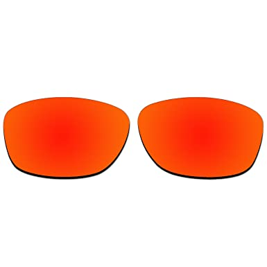 366cd64002 Amazon.com  ACOMPATIBLE Replacement Polarized Lenses for Oakley Pit Bull  Sunglasses OO9127 (Black)  Clothing