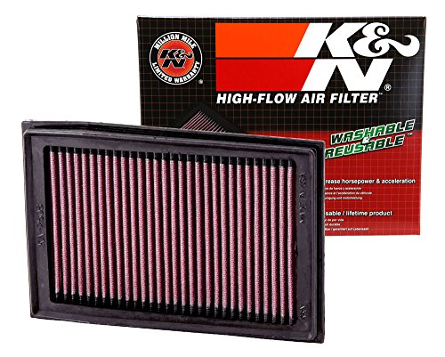 Ninja Air Box (K&N KA-2508 Kawasaki High Performance Replacement Air Filter)
