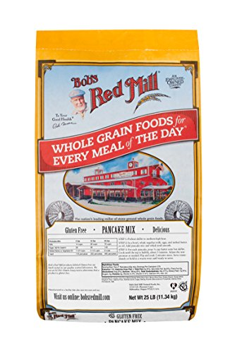 Bob's Red Mill Gluten Free Pancake Mix, 25 Pound by Bob's Red Mill (Image #1)