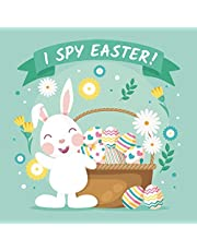 I Spy Easter: A Fun Easter Activity Book with Guessing Games & Coloring Pages for Kids, Toddlers and Preschool