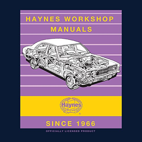 Haynes Workshop Manual 0070 Ford Cortina Mk3 Stripe Women's Vest Navy blue