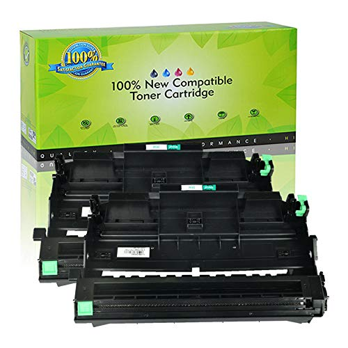 NineLeaf Compatible Drum Unit Replacement for Brother DR360 DR 360 DR-360 DCP-7040 DCP-7030 MFC-7840W MFC-7340 MFC-7440N HL-2140 HL-2170W HL-2150N Printer (Black,2 Pack) ()