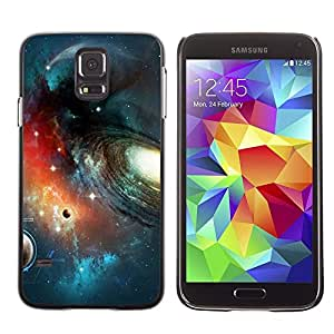 LOVE FOR Samsung Galaxy S5 Galaxy Planets Row Art Stars Space Cosmos Personalized Design Custom DIY Case Cover