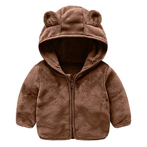 Jacket Newmarket (Faux Fur Coat Zipper Hooded Warm Baby Outerwear Veste Baby-Clothing Winter Jackets Boys)