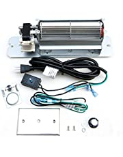 GZ550 Replacement Fireplace Blower Fan KIT for Continental, Napoleon, Rotom HB-RB58