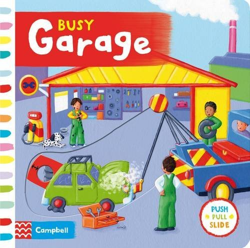 By Rebecca Finn Busy Garage (Illustrated edition) [Board book]
