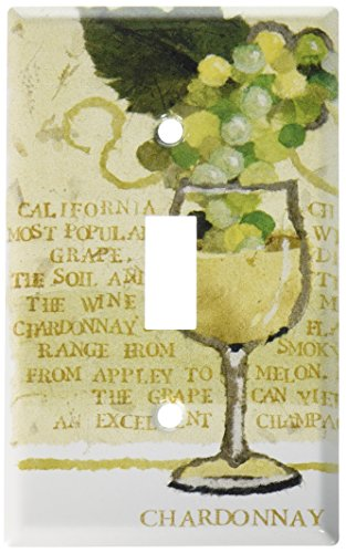 Art Plates - Chardonnay Switch Plate - Single Toggle