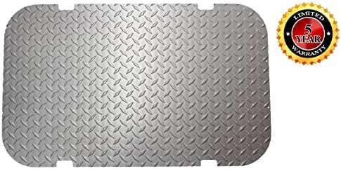 Beach Cart Floor Plate (Mill Finish)