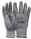 Wells Lamont Industrial, LLC - WLDY9265M : Gray Speckled Dyneema Polyurethan Glove by Wells Lamont Industry