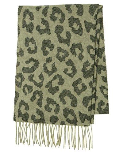 Charter Club Women's Exploded Leopard Cashmere Muffler One Size Java/Biscotti
