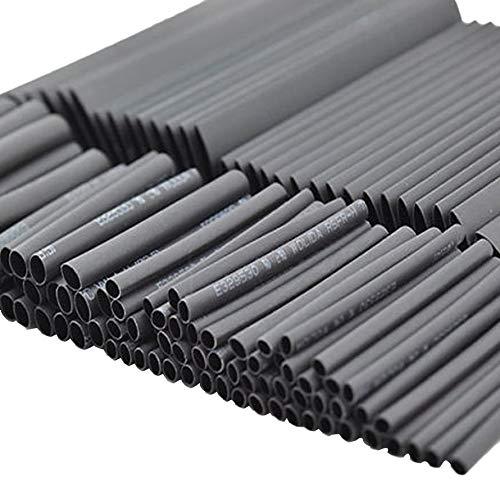 Ningbao Multimetro 2 127 pezzi Guaina termorestringente tubo guaina isolante Guaina corrugata auto elettrica termoretraibile Set assortito poliolefina