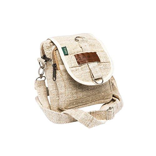 - Core Hemp Messenger Bag Crossbody Shoulder Bag Waist Bag