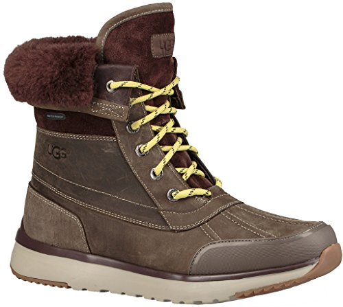 UGG Men's Eliasson Snow Boot, Slate, 9 M US