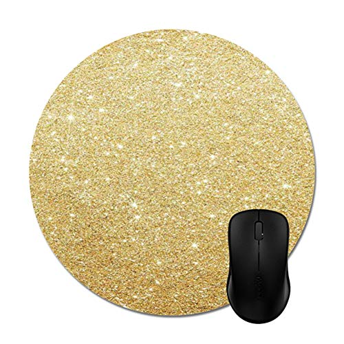 (Goldaisy Glitter Rose Gold Mouse Pad Stylish Office Computer Accessory 8
