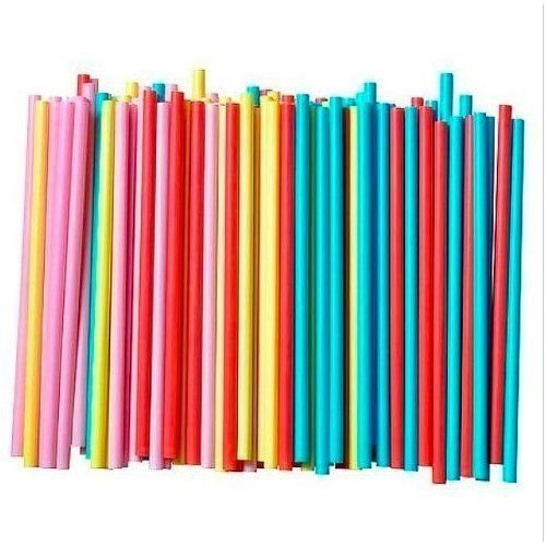 8 extra thick neon colored straws - 4