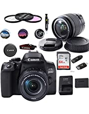 EOS 850D Camera with EF-S 18-55mm - Expo Basic Accessories Bundle