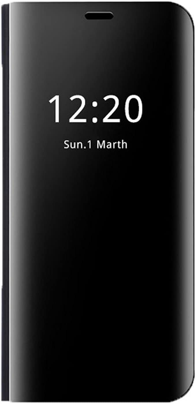 TALLA Mate 9. Teryei Funda Huawei Mate 9 / Mate 9 Pro, PC Hard Case [Ultra Slim] Anti-Scratch Full protección Rasguño y Resistente Anti-Estático Choque Espejo Plegable en Reflectante