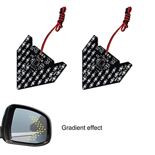 Side Mirror Led Turn Signal Arrow Lights - 3