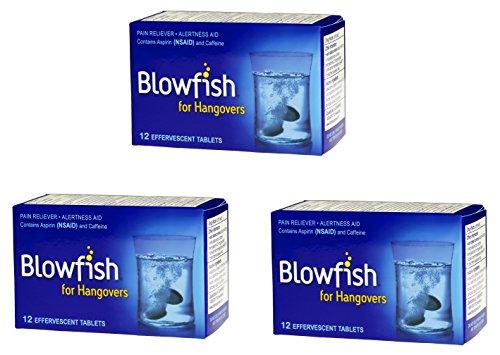 Pack Blowfish Hangover 12 Tablets