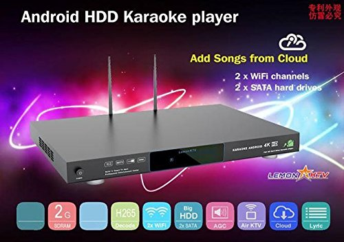 ANDROID KHP-8856 Vietnamese KARAOKE PLAYER 6TB HDD HARD DRIVE LOAD WITH 57000+ VIETNAMESE and another SONGS - Hard Drive Karaoke Player