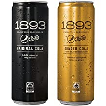 Pepsi Cola 1893, Variety Pack, Original and Ginger Cola Flavors, Certified Fair Trade Sugar, Real Kola Nut Extract (12 Ounce Cans, 12 Count)