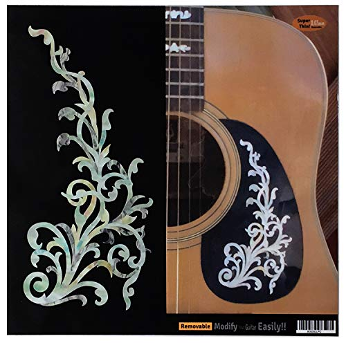 Pearl) Inlay Sticker Decals for Guitar & Bass Body ()