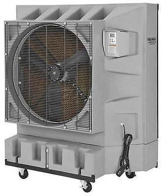 Streamline Industrial EVAPORATIVE COOLER Commercial – 1 Hp – 32 Gallon Tank – 3,225 Sq Ft Cooling Area