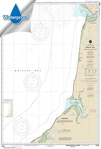 UPC 612524302883, NOAA Chart 16338: Bristol Bay-Ugashik Bay to Egegik Bay 31.5 x 46.3 (WATERPROOF)