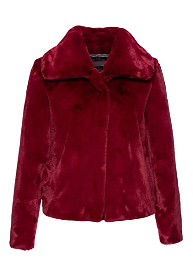 Freddies Jacke Damen Fake Friedaamp; Fur Rot 372038 3ARjL54q