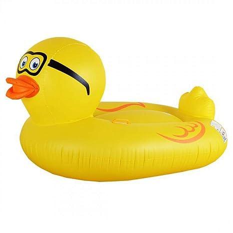 MANGETAL Mange Tal Flotador (Pato Rubber Pato Pool Float Hinchable Patos Flotador (190 cm
