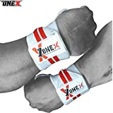 Wrist straps - Adjustable Weight Lifting Training Wrist Straps Support Braces Wraps Belt Protector for Weightlifting Crossfit Powerlifting Bodybuilding - For Women & Men
